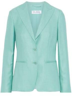 Max Mara Nuevo Silk And Wool-Blend Blazer