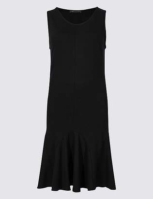 Marks and Spencer Flippy Ponte Fit & Flare Dress