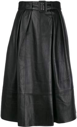 Tommy Hilfiger Tommy x Zendaya Fitted Pleated Waist Skirt