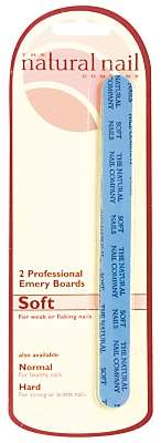 Jessica Single Card Soft Emery Boards