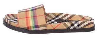 Burberry 2018 Ashmore Sandals