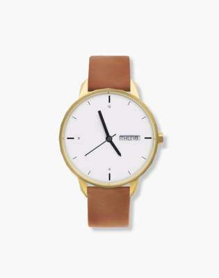 Madewell Tinker 42mm Gold-Toned Watch