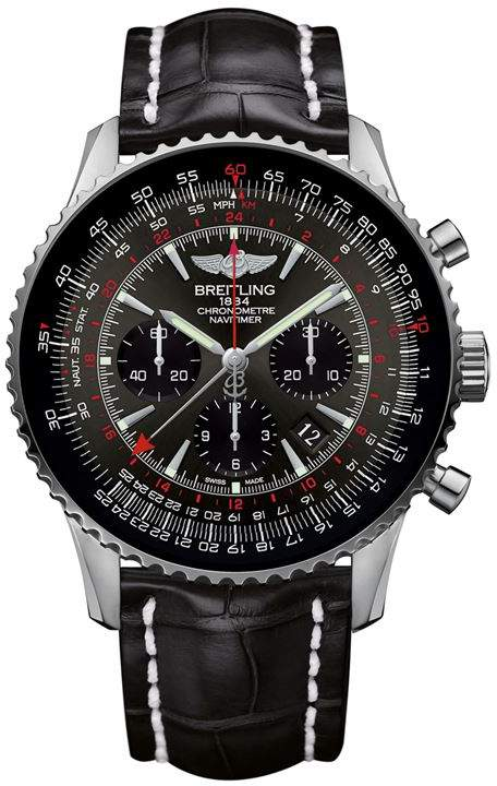 Navitimer GMT Automatic Chronograph Watch 48mm