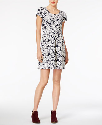Maison Jules Jacquard Fit & Flare Dress, Only at Macy's $79.50 thestylecure.com