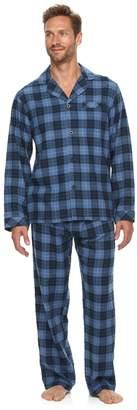 Men's Residence Flannel Pajama Set
