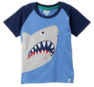 Lilly + Sid Shark Applique Tee (Toddler & Little Boys)
