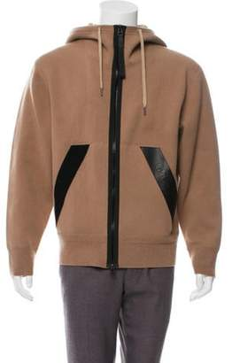 Tom Ford Double Face Cashmere-Blend Hoodie Double Face Cashmere-Blend Hoodie
