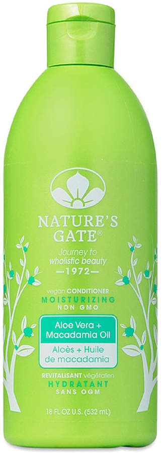 Aloe Vera + Macadamia Oil Moisturizing Conditioner by Nature's Gate (18oz Conditioner)