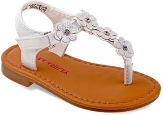 Laura Ashley Lifestyles Floral Toddler Girls' Sandals