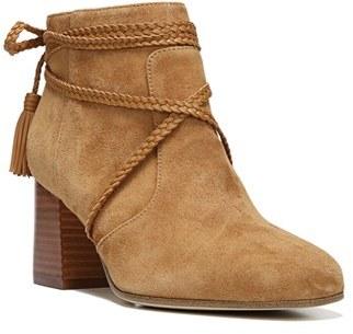 Women's Via Spiga Maddox Block Heel Bootie $275 thestylecure.com
