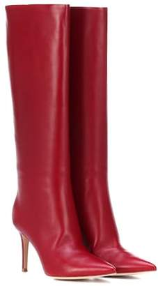 Gianvito Rossi Suzan 85 leather boots