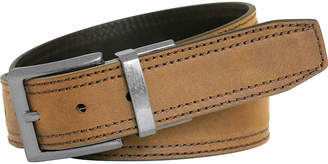 Realtree Reversible Double-Stitch Leather Casual Belt