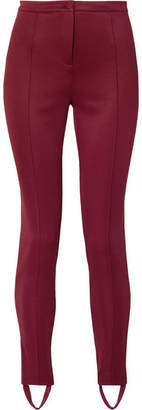 Gucci Tech-jersey Stirrup Leggings - Claret