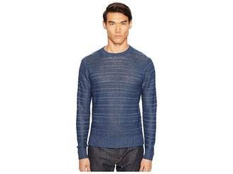 Todd Snyder Linen Delave Drop Stitch Crew Men's Sweater