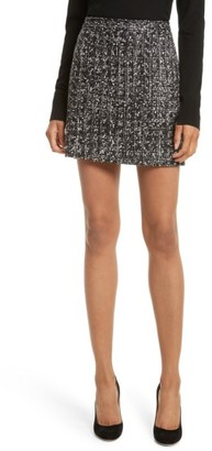 Women's Milly Modern Tweed Miniskirt $245 thestylecure.com