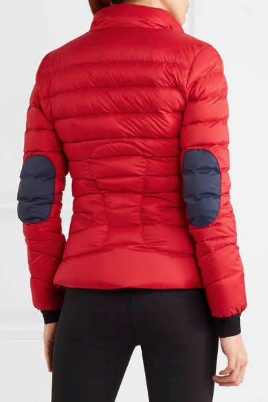 Perfect Moment - Mini Duvet Quilted Down Ski Jacket - Red 2