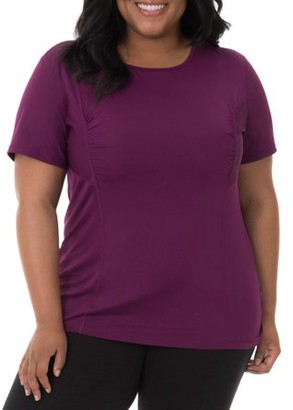Fruit of the Loom Fit for Me by Women's Plus Size Active Mesh Performance Tee