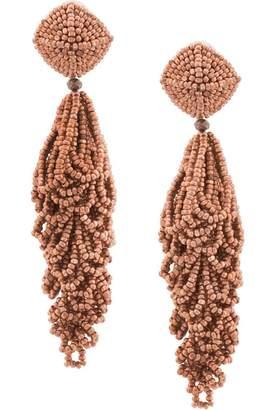 Sachin + Babi beaded chandelier earrings