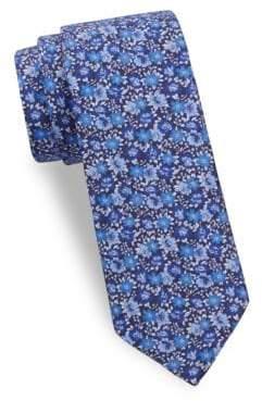 Bold Flower Silk Tie