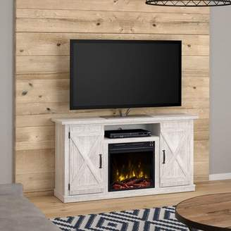 """Laurèl Foundry Modern Farmhouse Serein 48"""" TV Stand with Fireplace"""