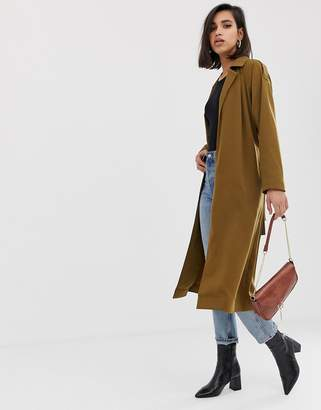 Asos Design DESIGN duster coat