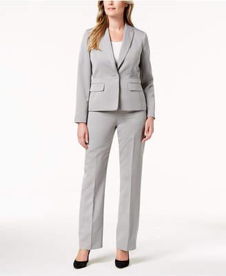 Le Suit One-Button Pantsuit, Regular & Petite