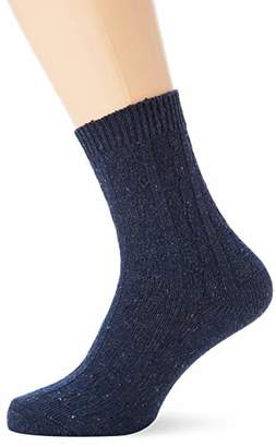 Warehouse Women's Cable Casual Socks,One (Size:)