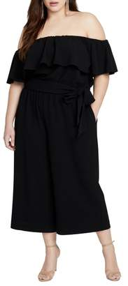 Rachel Roy Daya Off The Shoulder Jumpsuit
