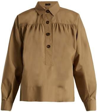 Joseph Willow gathered-yoke cotton shirt
