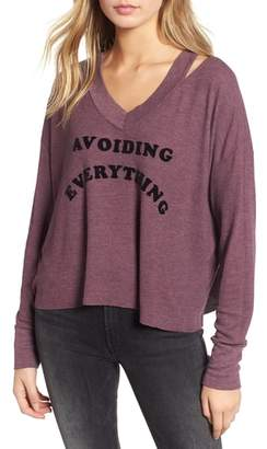 Wildfox Couture Hayley - Avoiding Everything Top