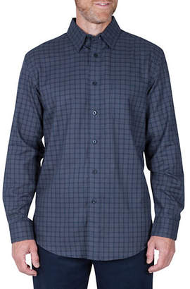 Haggar Long Sleeve Check Shirt