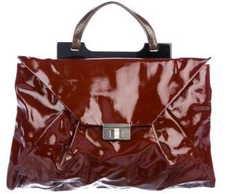 Marni Patent Leather Handle Bag
