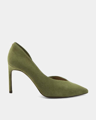 Ted Baker DAPHNES Suede court shoe