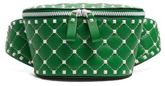 Valentino Free Rockstud Belt Bag - Womens - Green White