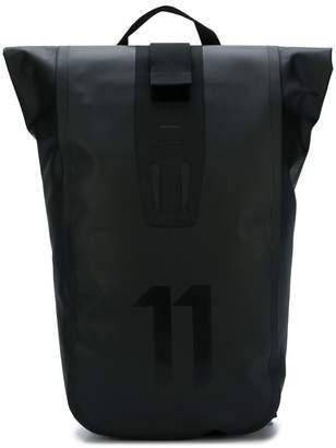 11 By Boris Bidjan Saberi rolled top backpack