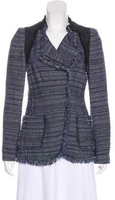 Rebecca Taylor Textured Zip-Up Blazer