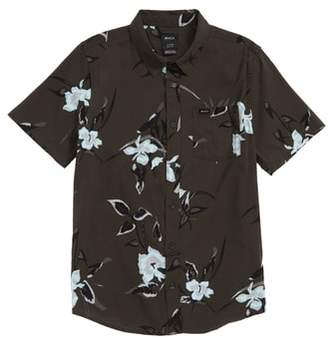 RVCA Moonflower Woven Shirt