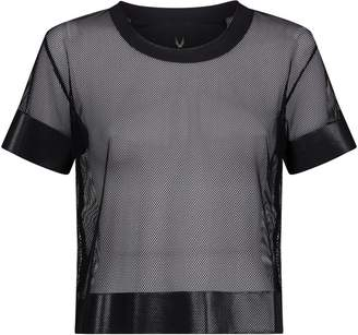 Lucas Hugh Cropped Mesh T-Shirt