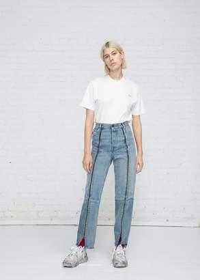 Vetements Biker Zipped Jeans