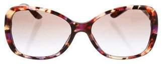Versace Tortoiseshell Gradient Sunglasses