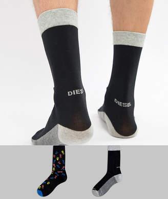 Diesel 2 Pack Socks