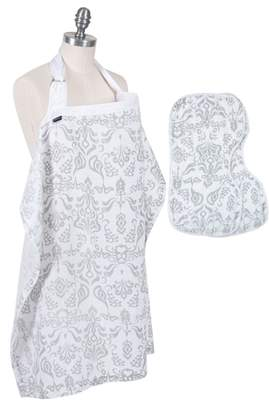 Bebe Au Lait Muslin Nursing Cover & Burp Cloth Set