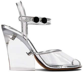 468401caa71 Marc Jacobs Plexiglass Wedge Sandal