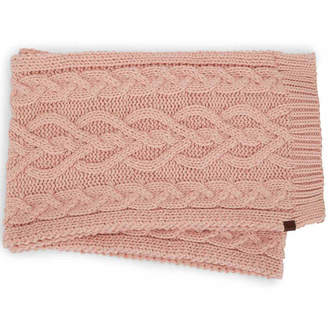 Keds Cable Knit Oblong Cold Weather Scarf