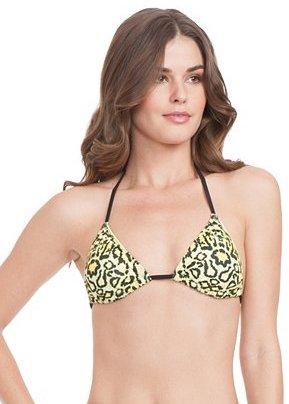 GUESS Wild About You Triangle Bra Bikini Top