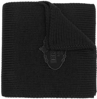 Prada knitted scarf