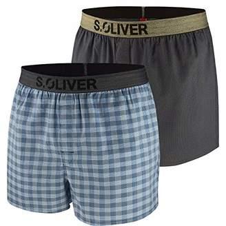 S'Oliver Men's 26.899.97.4249 Boxer Shorts,(Size: 6)