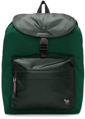 Paul Smith Green Zebra Backpack
