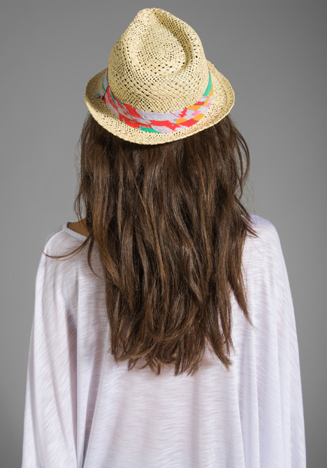 Suboo Impanema Fedora in Straw/Rayon Trim