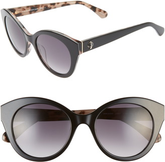Kate Spade Karleigh 51mm Cat Eye Sunglasses